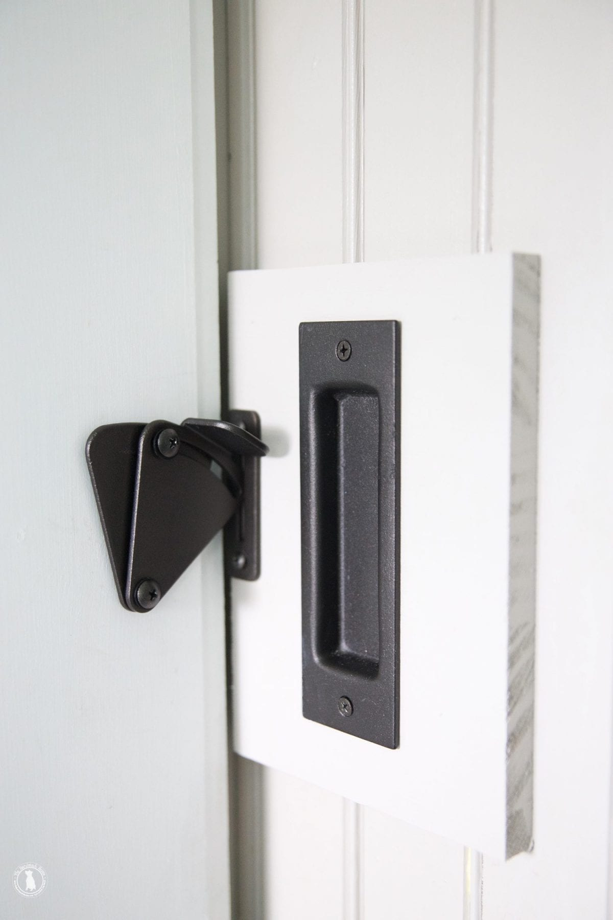 Charmant How To Add A Lock To A Barn Door