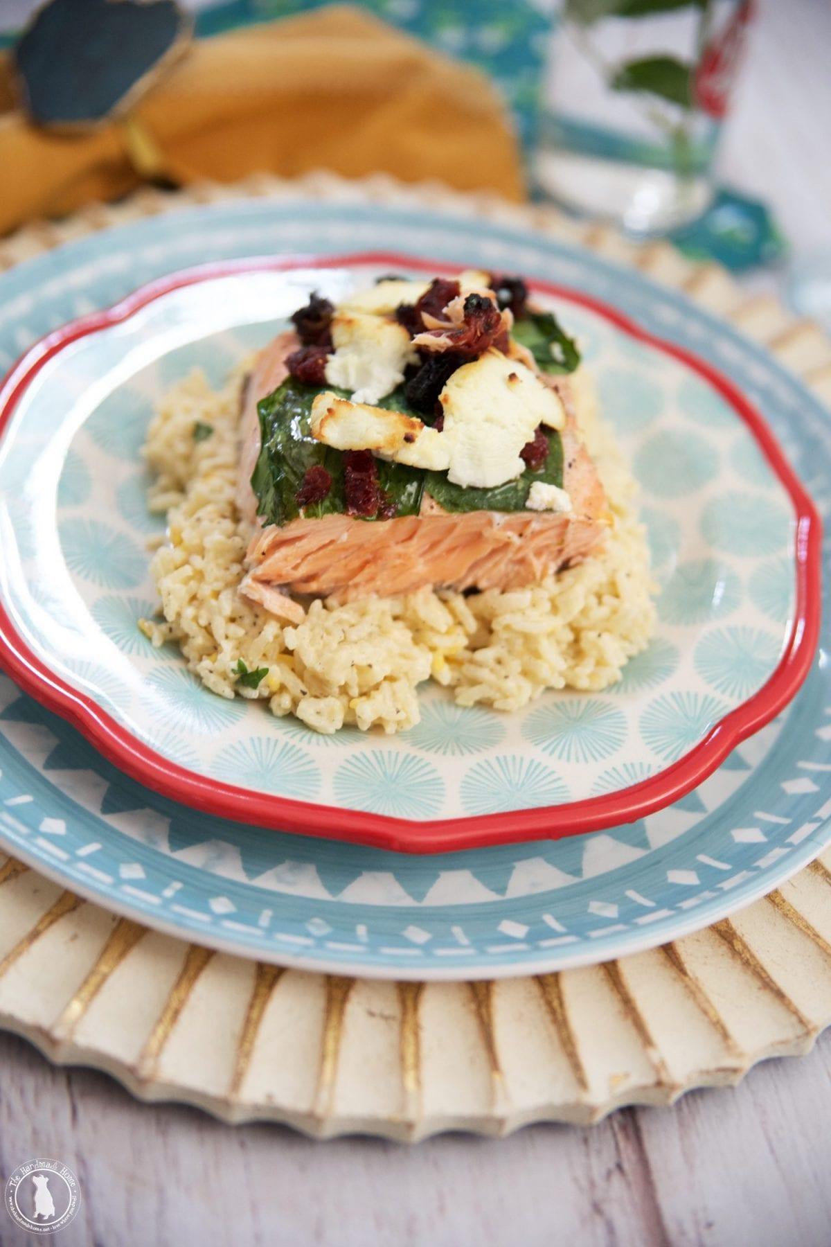 easy Mediterranean salmon