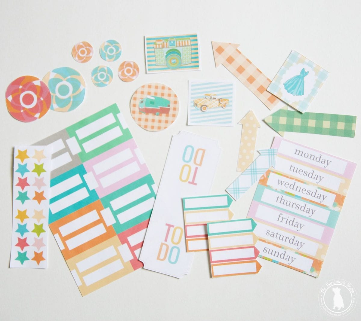 free planner - stickers