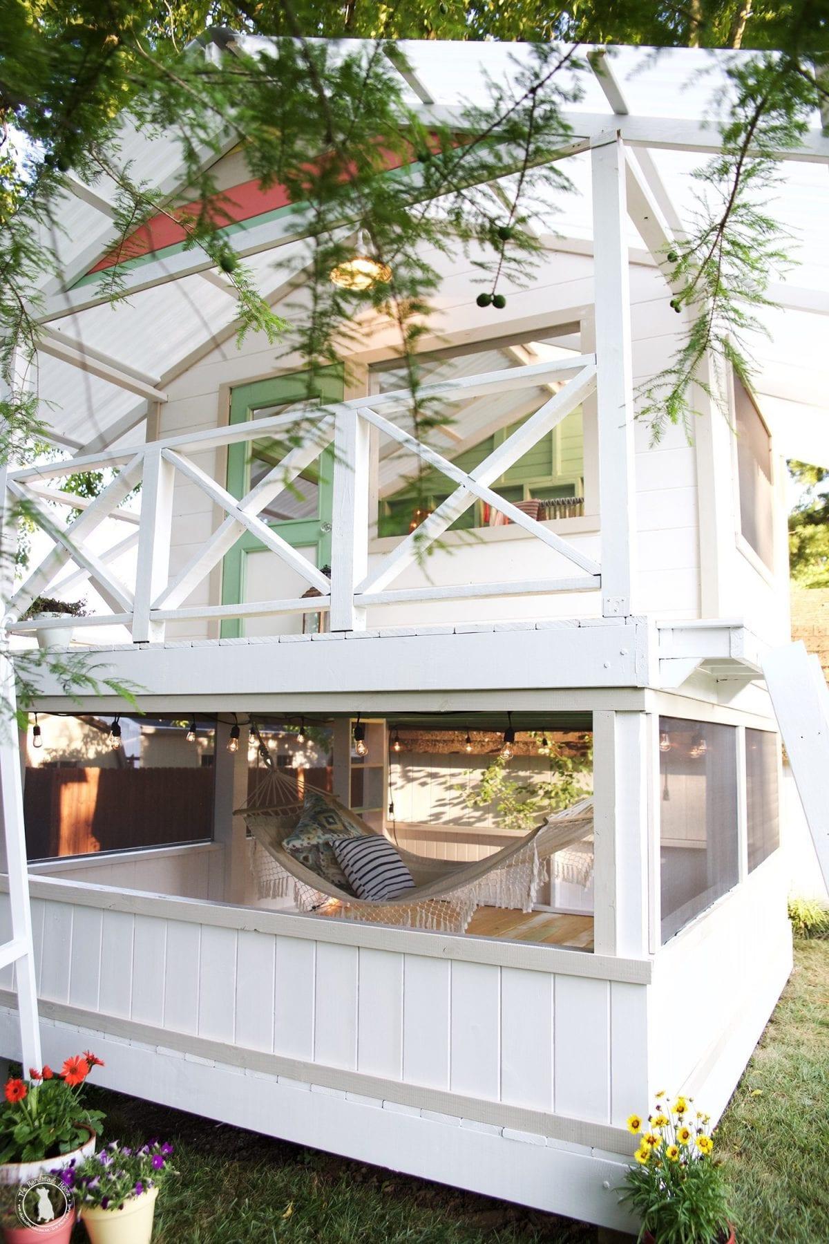 handmade hideaway 2.0 - roof framing and siding - The Handmade Home