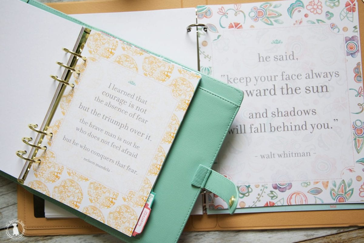 Free Planner 2018 - Over 200 Customizable Files - The Handmade Home