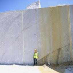 a tour of the polycor quarry in tate, georgia