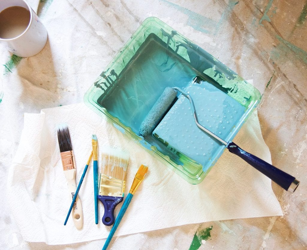 Save the easy peasy guide to painting