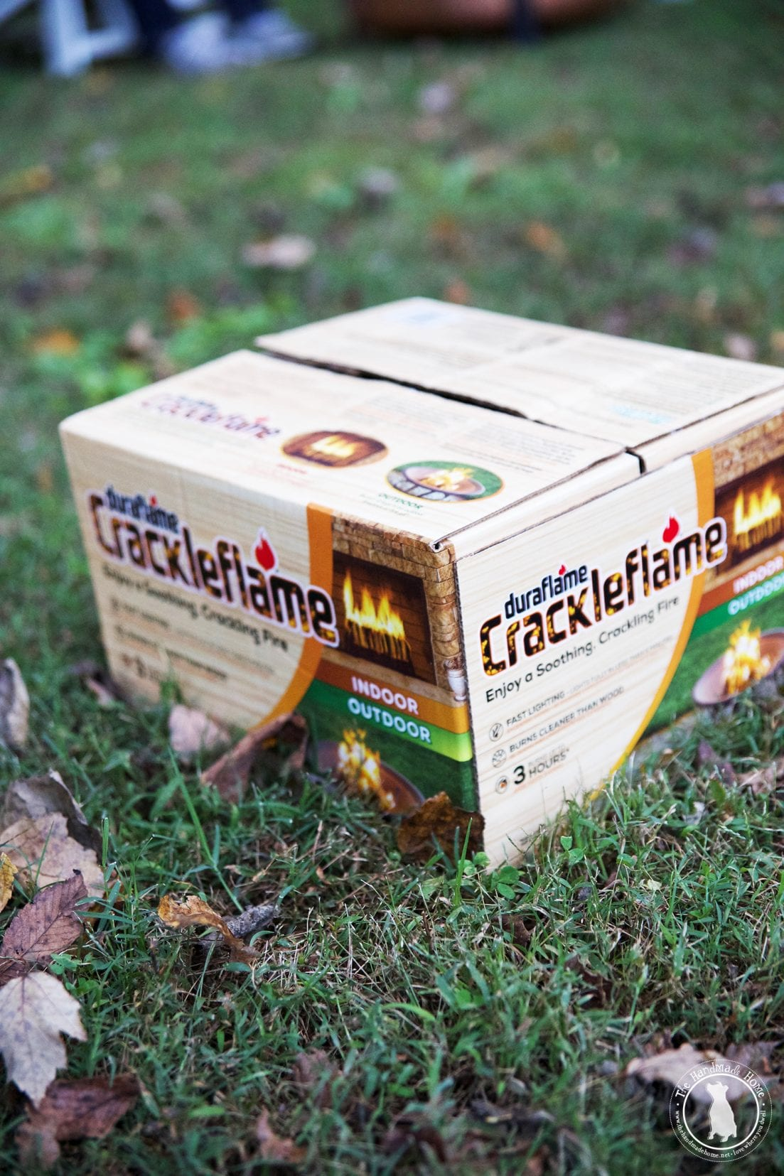 build an easy fire with duraflame the handmade home
