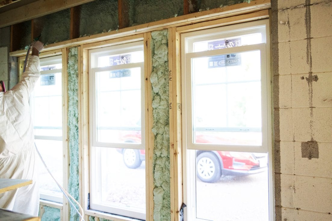 How To Use Spray Insulation - DIY Foam it Green - The ...