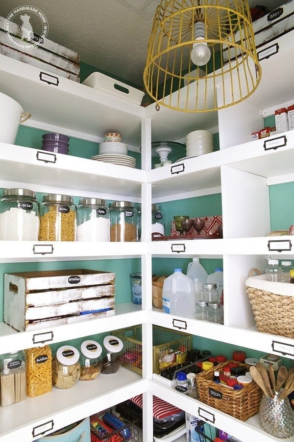 organization around the house - pantry