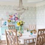 Client install a sneak peek the handmade home for Jones design company dining room