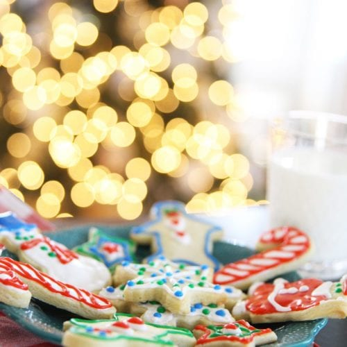 the best christmas cookie recipe {and a gluten free cheesecake}