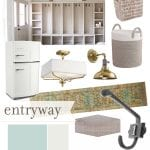 basement progress – entryway design plans