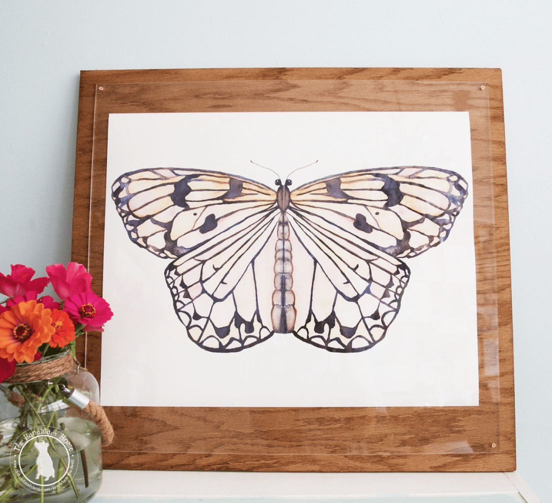 free butterfly art - for your home