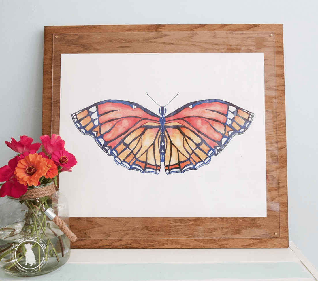 free butterfly art - spring is here
