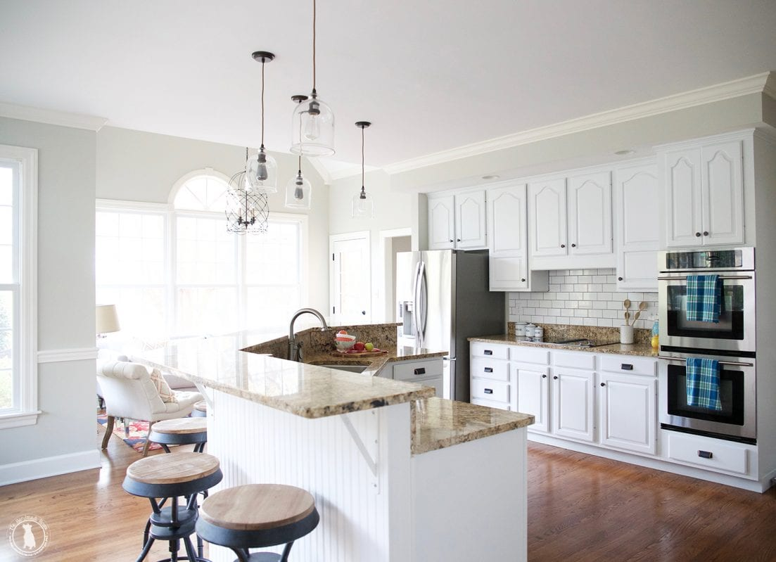 kitchen redo: small changes with big impact - The Handmade Home