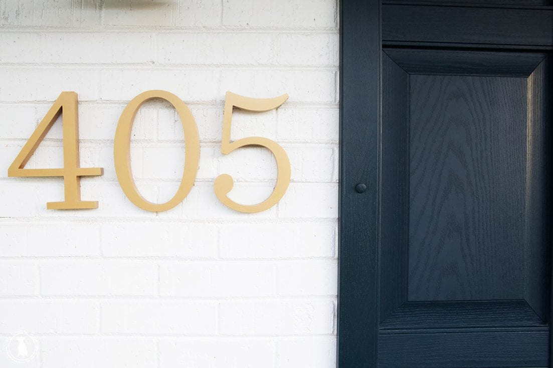 front porch numbers