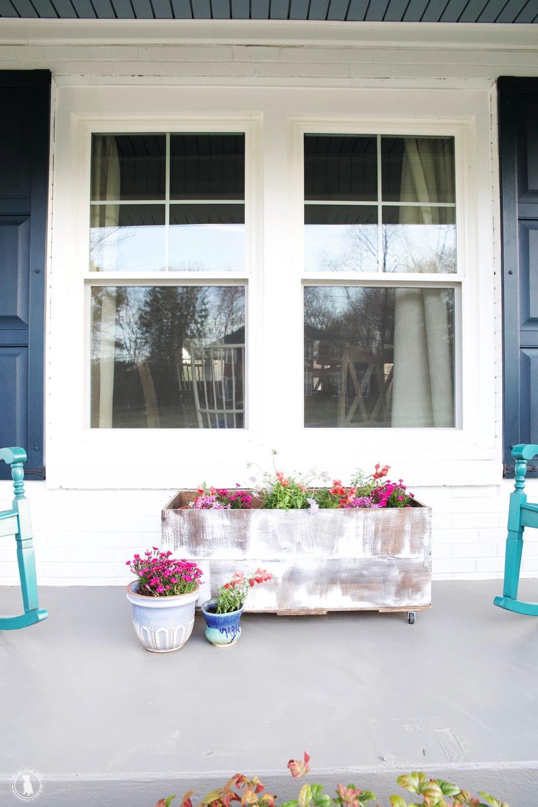 front porch accents