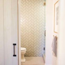 bathroom reveal with wayfair