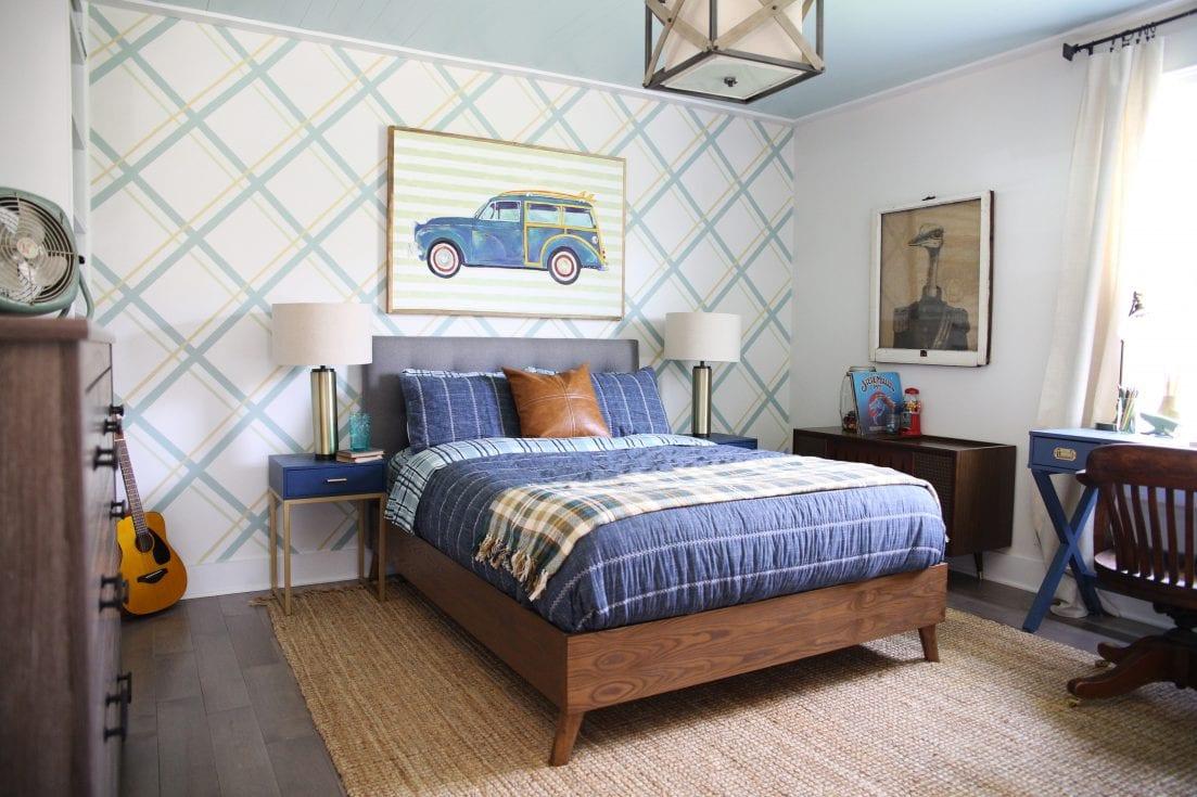 outstanding teen boy bedrooms | teen boy bedroom design - making a change he'll love for years