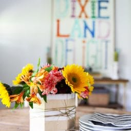 make a simple centerpiece – a great gift