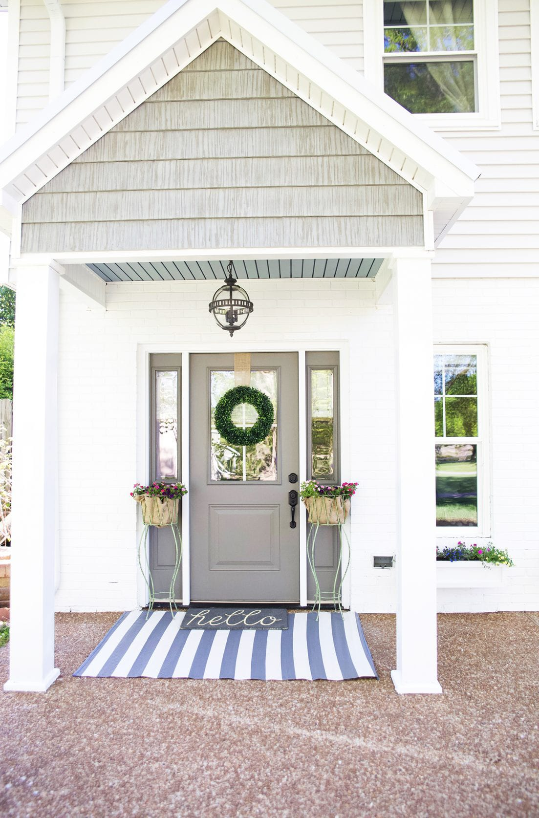 side entrance curb appeal