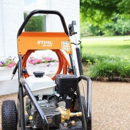 the wonderful company of stihl {their awesome pressure washer}