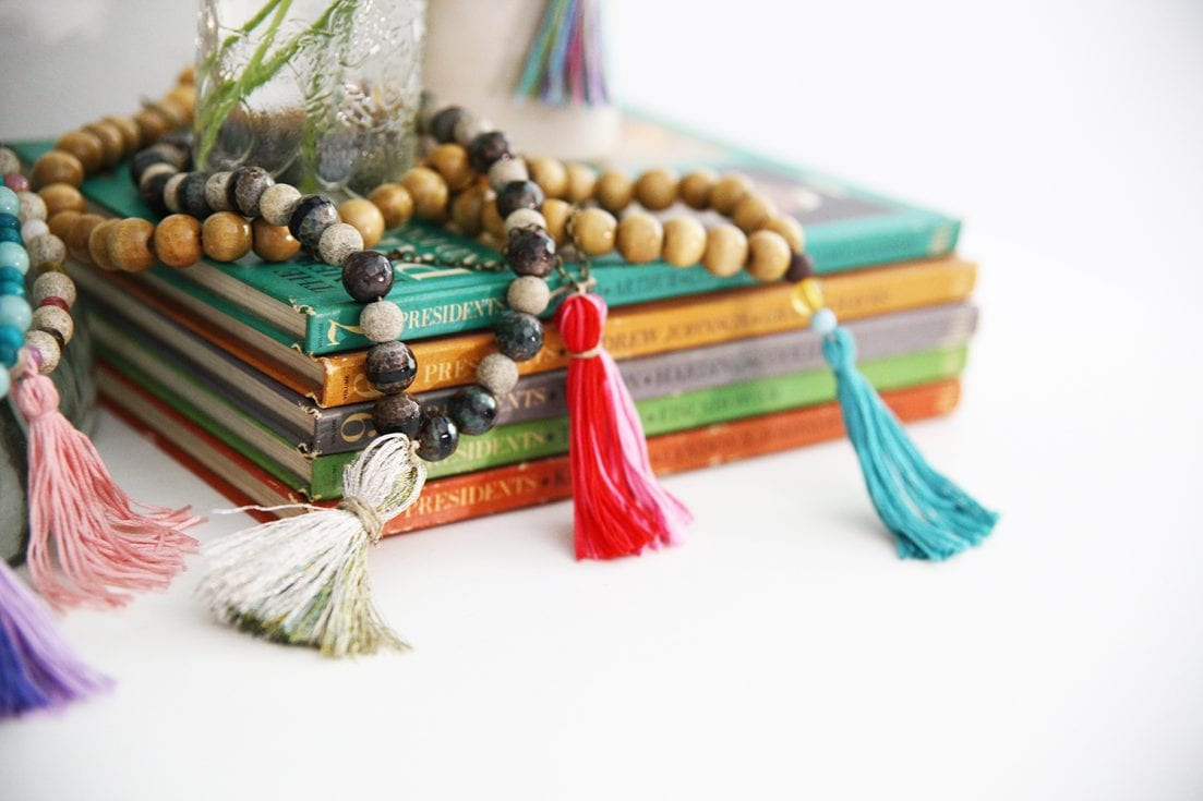 Tassel Necklaces for Kids