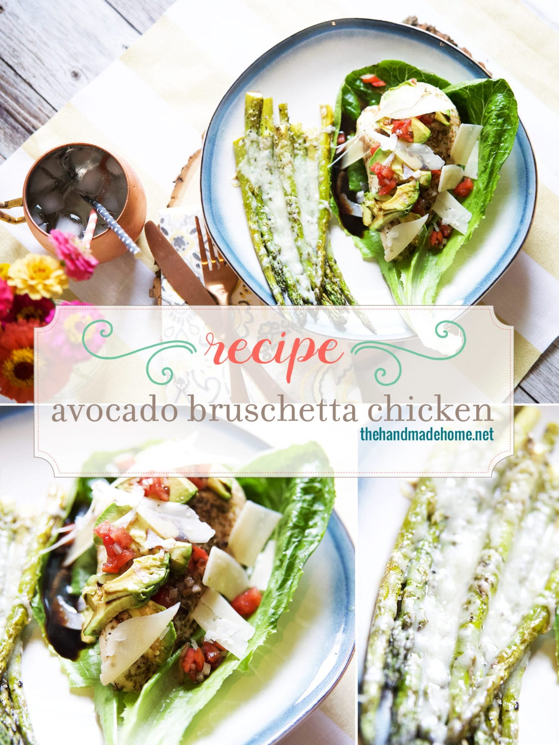 avocado bruschetta chicken