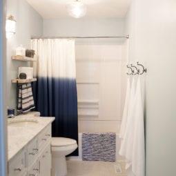 children's bathroom renovation