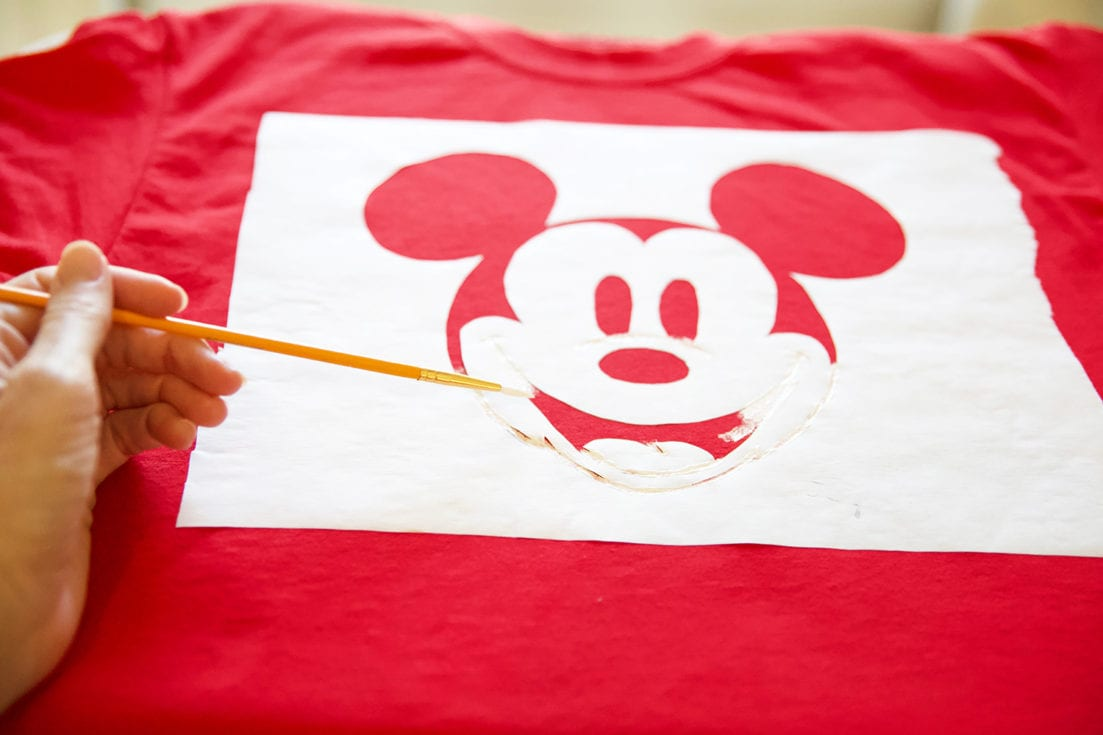 create diy screen printed tees