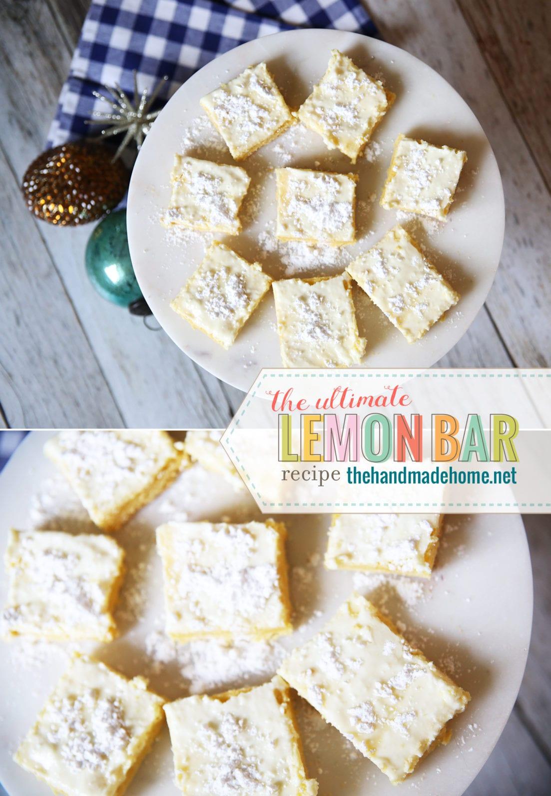 lemon bar easy recipe