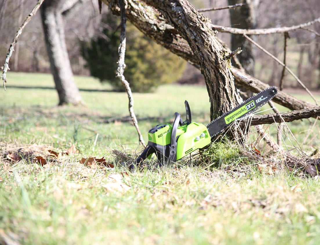 batter powered lawn equipment is better