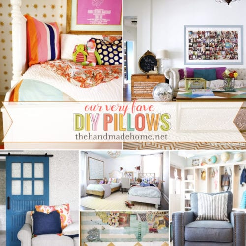 easy diy pillows