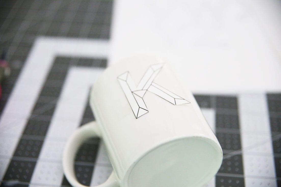 ceramic drawing template