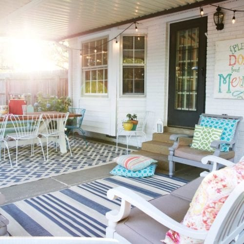 money saving tips for outdoor spaces