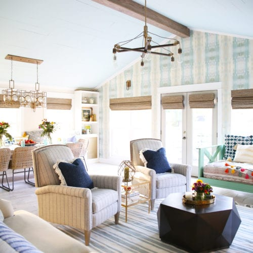 addition reveal: the pool room