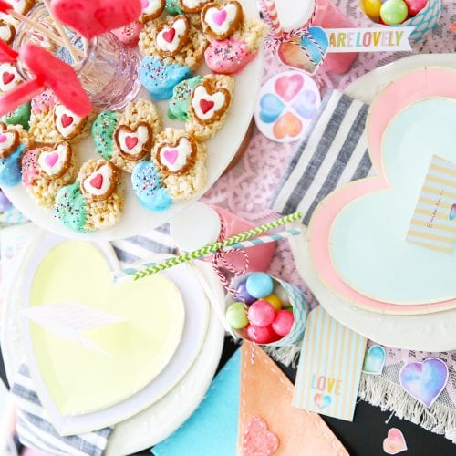 easy valentines day ideas + free printables