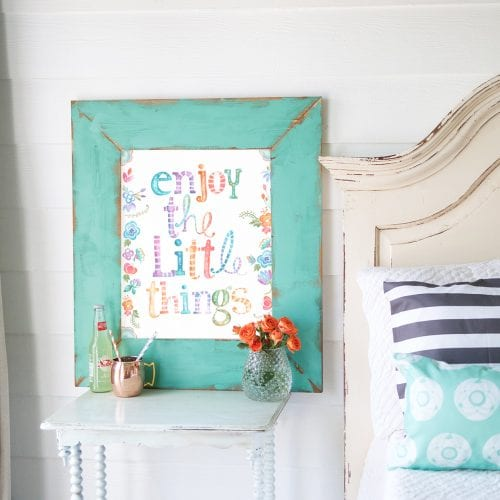 enjoy the little things – free printable