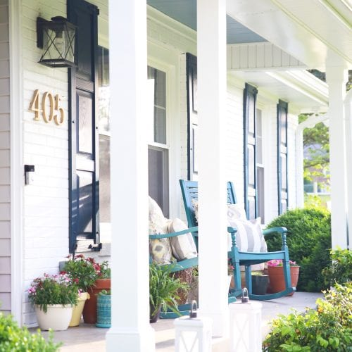 5 elements for a welcoming porch