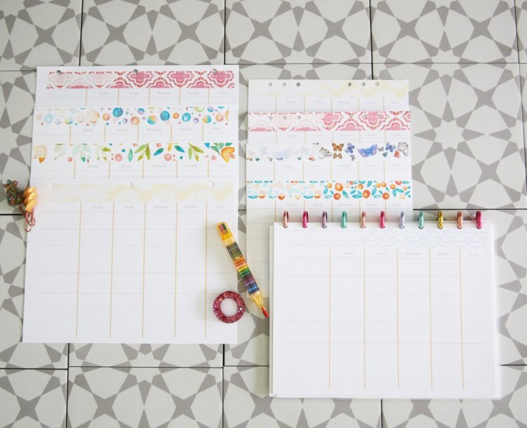school subject planner