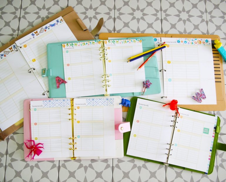 free homework planner 2021