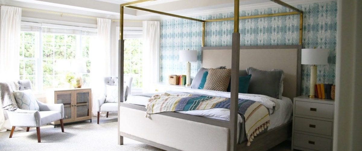 beach house project: bedrooms and bathrooms