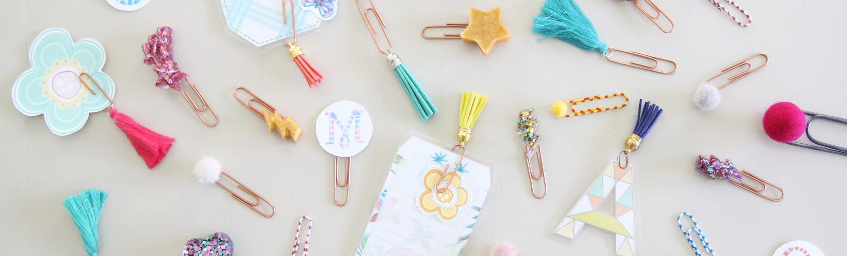 easy diy paper clips