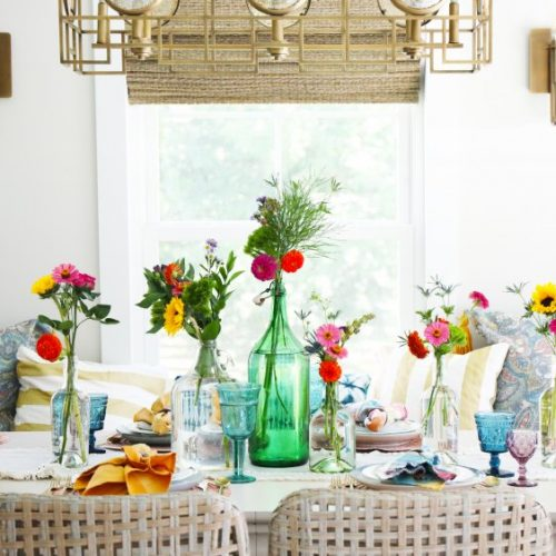 inspired gatherings: fall tablescape tour