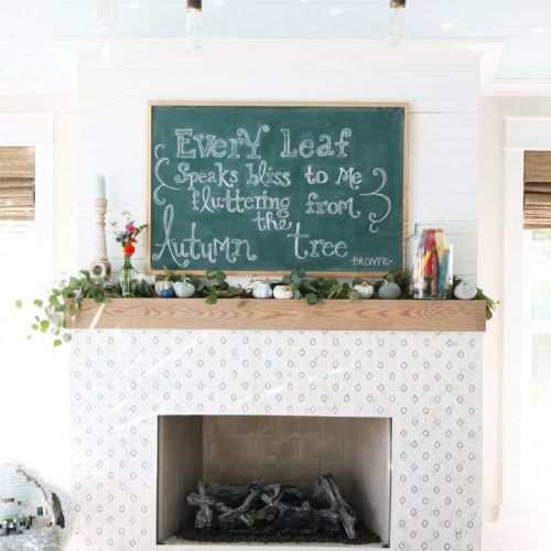 simple fall mantle