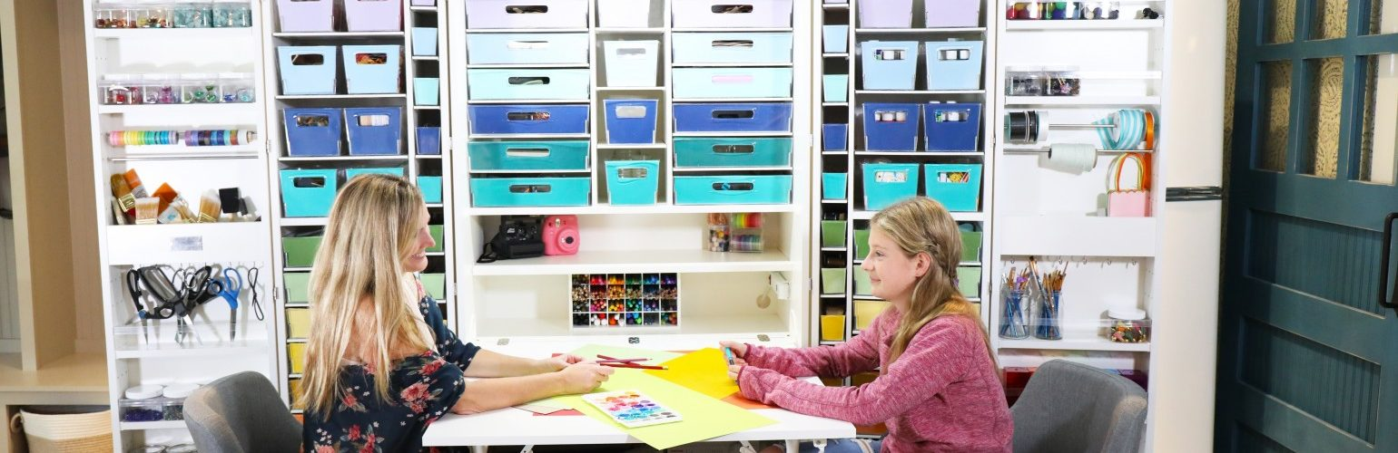 tips for organizing craft supplies