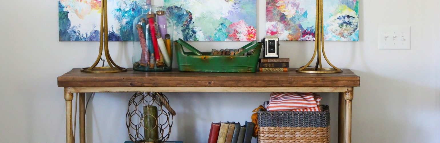 best tips for organizing a small entryway